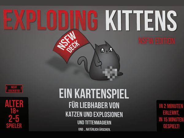 Bild zu Alle Brettspiele-Spiel Exploding Kittens: NSFW Edition