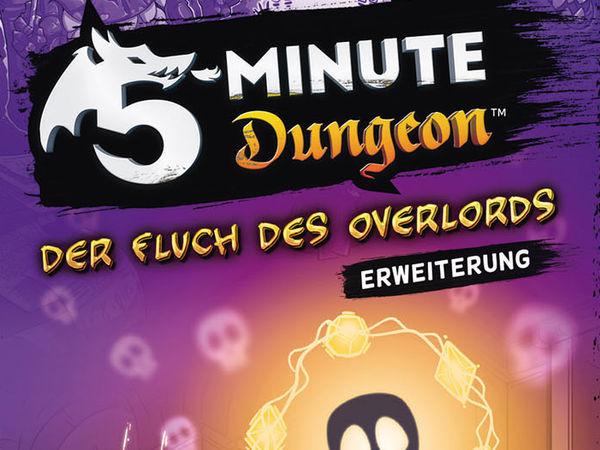 Bild zu Alle Brettspiele-Spiel 5-Minute Dungeon: Erweiterung - Der Fluch des Overlords