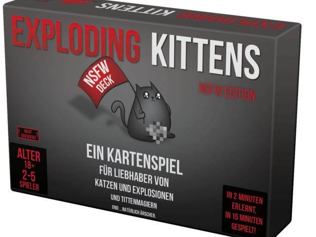 Exploding Kittens: NSFW Edition Bild 1