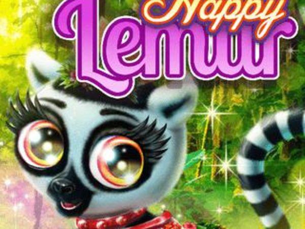 Bild zu Mädchen-Spiel Happy Lemur
