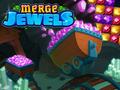 Denken-Spiel Merge Jewels spielen