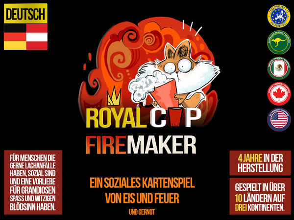 Bild zu Alle Brettspiele-Spiel Royal Cup: Firemaker