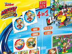 Edukit 4 in 1: Mickey and the Roadster Racers