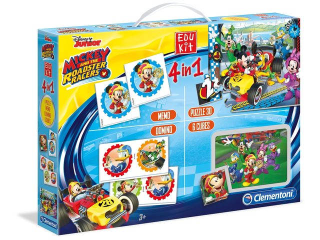 Edukit 4 in 1: Mickey and the Roadster Racers Bild 1