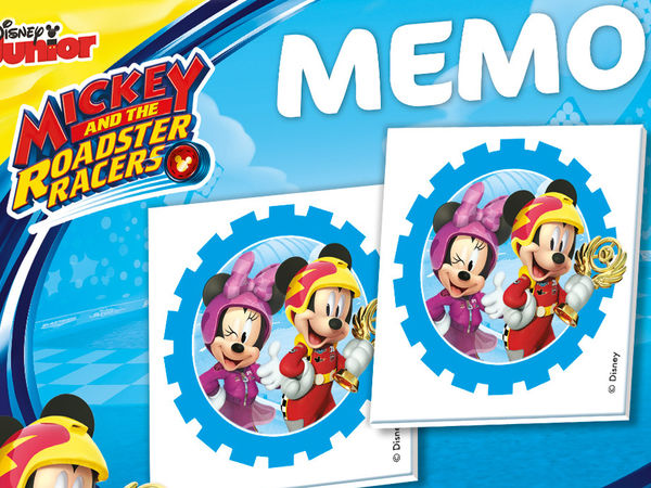 Bild zu Alle Brettspiele-Spiel Memo kompakt: Mickey and the Roadster Racers