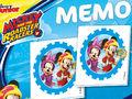 Alle Brettspiele-Spiel Memo kompakt: Mickey and the Roadster Racers spielen
