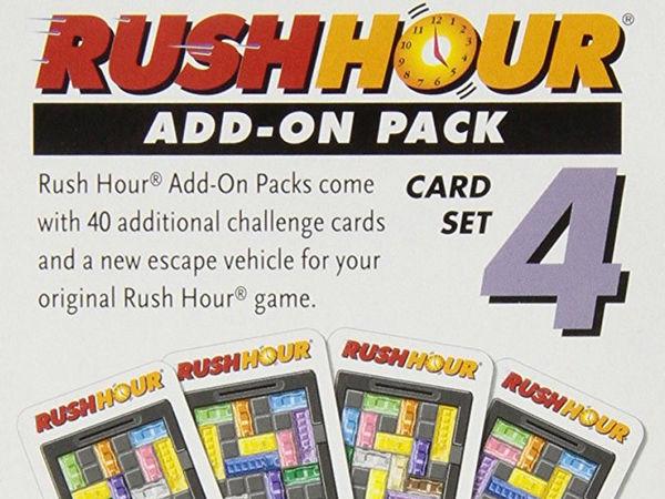 Bild zu Alle Brettspiele-Spiel Rush Hour: Erweiterungsset 4