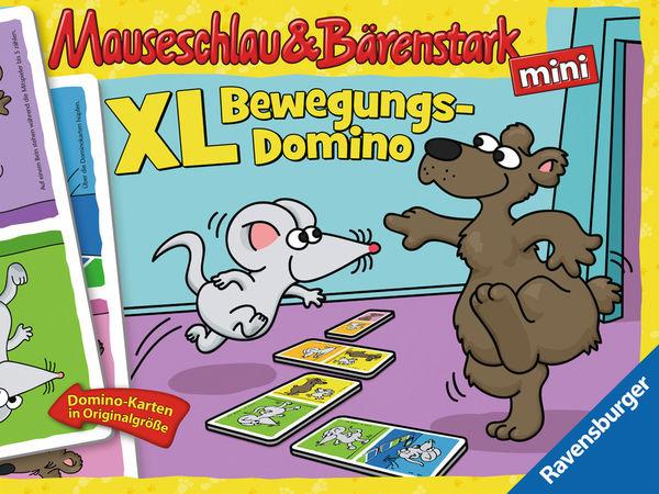 Bild zu Alle Brettspiele-Spiel Mauseschlau & Bärenstark: XL Bewegungs-Domino