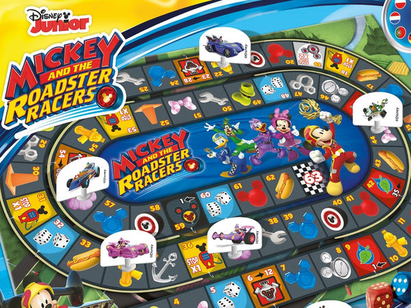 Bild zu Alle Brettspiele-Spiel Rennspiel: Mickey and the Roadster Racers