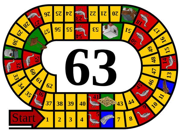 Bild zu Alle Brettspiele-Spiel Gänsespiel