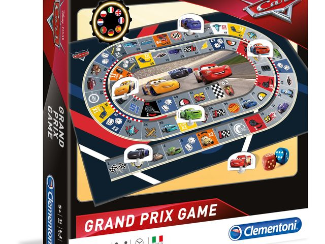Grand Prix Spiel: Cars 3 Bild 1