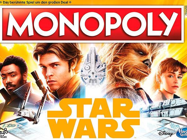 Bild zu Alle Brettspiele-Spiel Monopoly: Solo - A Star Wars Story