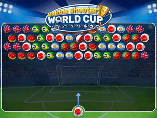Bild zu HTML5-Spiel Bubble Shooter World Cup