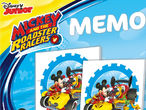 Vorschaubild zu Spiel Memo Game: Mickey and the Roadster Racers
