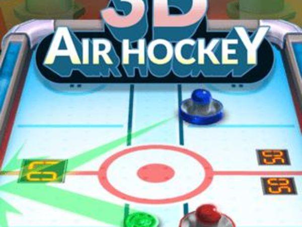 Bild zu Top-Spiel 3D Air Hockey