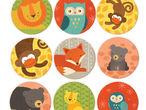 Vorschaubild zu Spiel Petit Collage - Memo Tierbabys