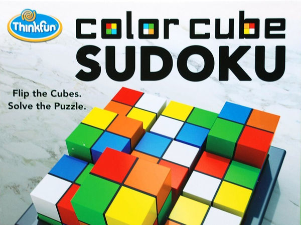 Bild zu Alle Brettspiele-Spiel Color Cube Sudoko