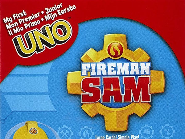 Bild zu Alle Brettspiele-Spiel Uno Junior Feuerwehrmann Sam
