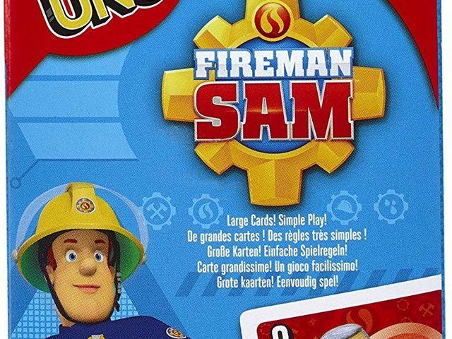 Uno Junior Feuerwehrmann Sam Bild 1