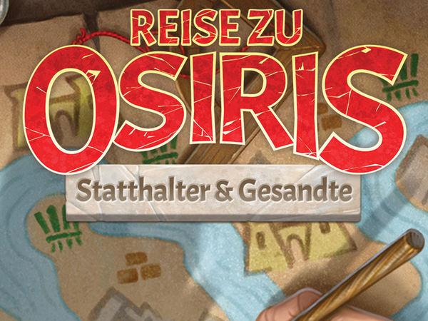 Bild zu Alle Brettspiele-Spiel Reise zu Osiris: Statthalter & Gesandte