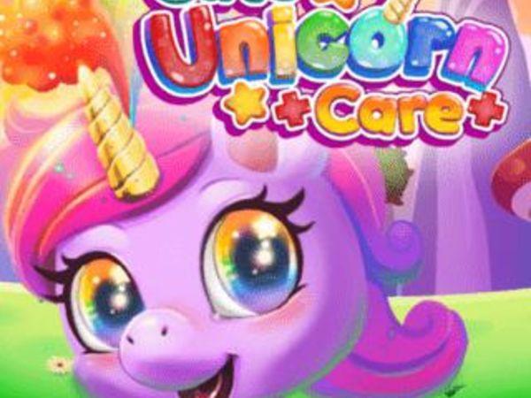 Bild zu Mädchen-Spiel Cute Unicorn Care