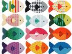 Vorschaubild zu Spiel Petit Collage - Memo Fische