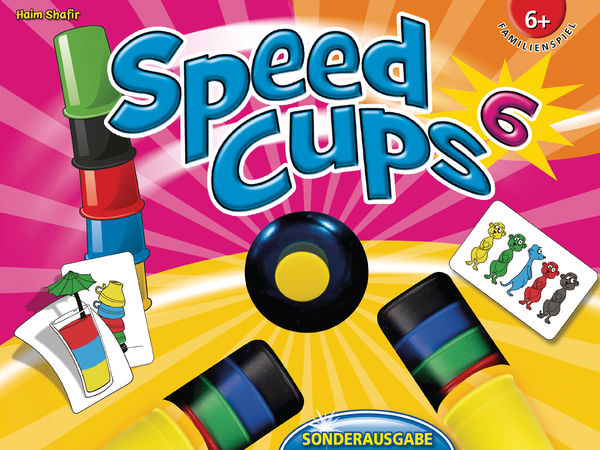 Bild zu Alle Brettspiele-Spiel Speed Cups 6