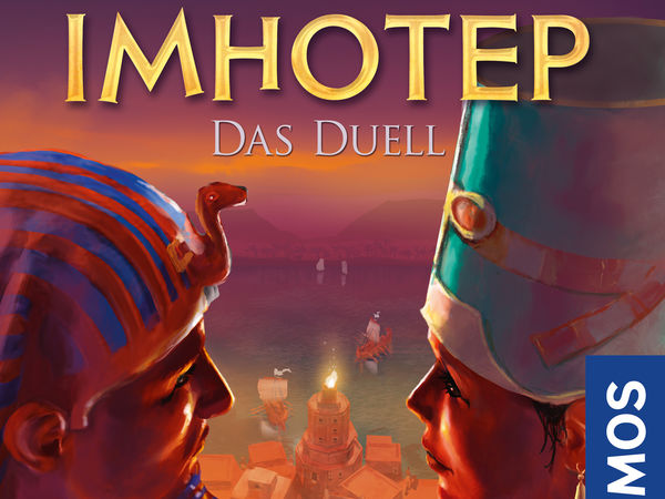 Bild zu Spiel des Jahres-Spiel Imhotep: Das Duell