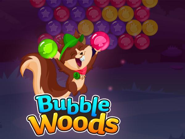 Bild zu Denken-Spiel Bubble Woods