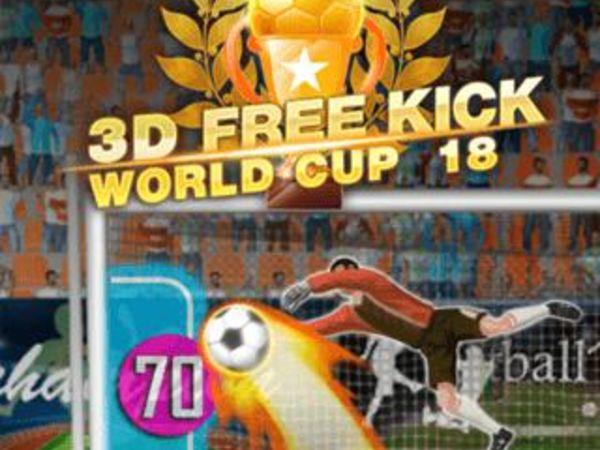 Bild zu HTML5-Spiel 3D Free Kick World Cup 18