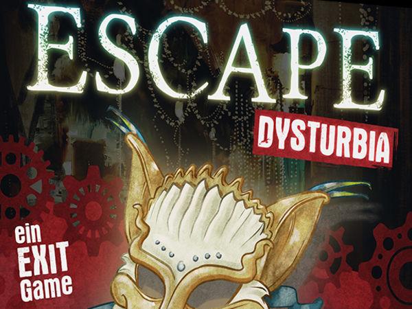 Bild zu Alle Brettspiele-Spiel Escape Dysturbia: Mörderischer Maskenball