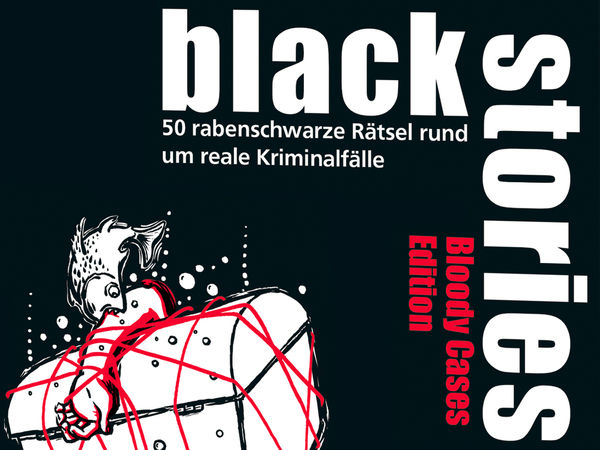 Bild zu Alle Brettspiele-Spiel Black Stories: Bloody Cases Edition