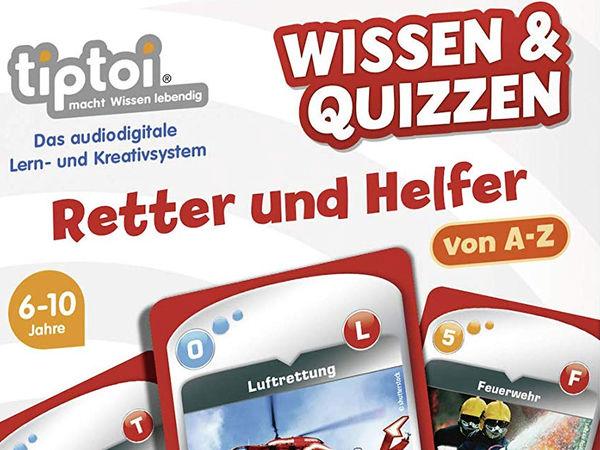Bild zu Alle Brettspiele-Spiel Wissen & Quizzen: Retter und Helfer