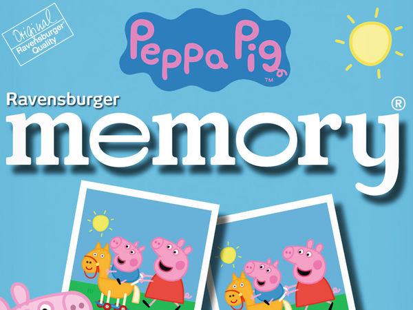 Bild zu Alle Brettspiele-Spiel Peppa Pig Memory