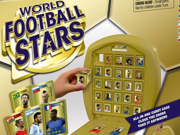 Bild zu Alle Brettspiele-Spiel Top Trumps Match: World Football Stars