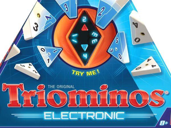 Bild zu Alle Brettspiele-Spiel Triominos Electronic