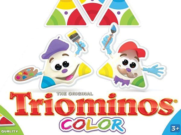 Bild zu Alle Brettspiele-Spiel Triominos Color