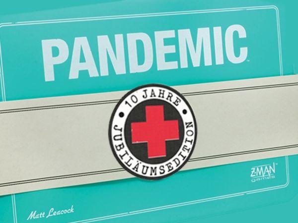 Bild zu Alle Brettspiele-Spiel Pandemic: 10 Jahre Jubiläumsedition