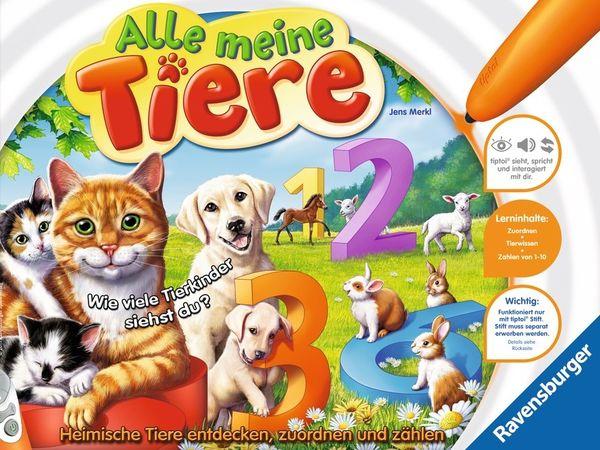 Bild zu Alle Brettspiele-Spiel Alle meine Tiere