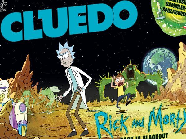 Bild zu Alle Brettspiele-Spiel Cluedo Rick and Morty