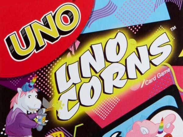 Bild zu Alle Brettspiele-Spiel Uno Uni-Corns Kartenspiel