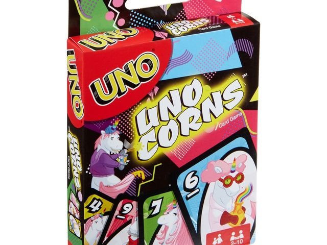 Uno Uni-Corns Kartenspiel Bild 1