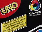 Vorschaubild zu Spiel Uno ColorADD mit Farbsymbolen