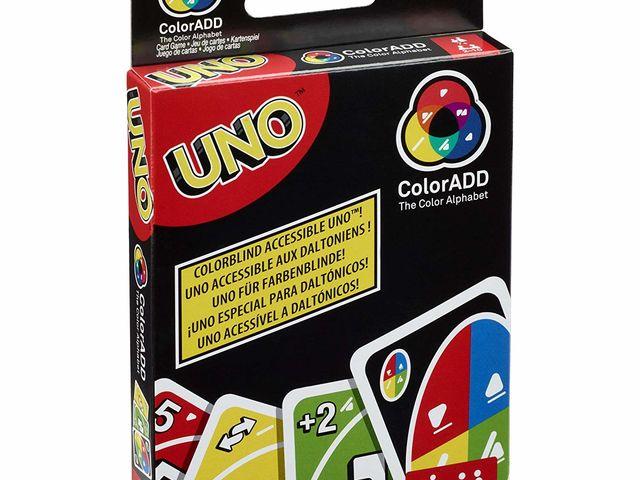 Uno ColorADD mit Farbsymbolen Bild 1