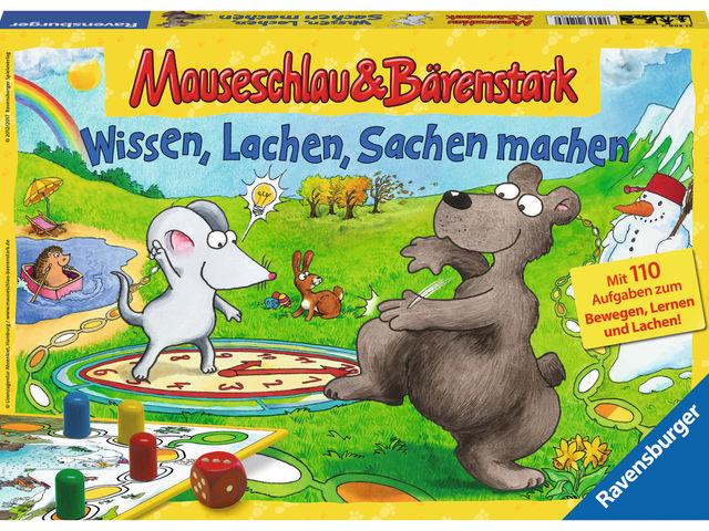 Mauseschlau & Bärenstark: Wissen, Lachen, Sachen machen Bild 1