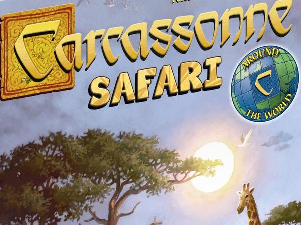 Bild zu Alle Brettspiele-Spiel Carcassonne: Safari