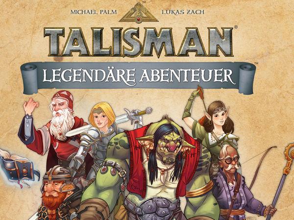 Bild zu Alle Brettspiele-Spiel Talisman: Legendäre Abenteuer