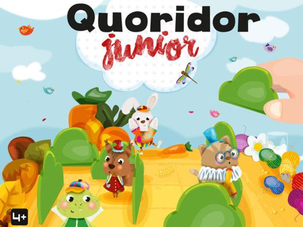 Bild zu Alle Brettspiele-Spiel Quoridor Junior