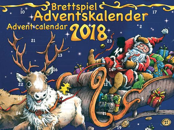 Bild zu Alle Brettspiele-Spiel Brettspiel Adventskalender 2018