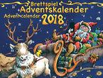Vorschaubild zu Spiel Brettspiel Adventskalender 2018